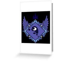 MLP - Princess Luna's Coat of Arms Greeting Card