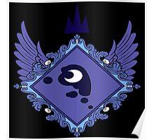 MLP - Princess Luna's Coat of Arms Poster
