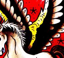 Pegasus Tattoo design Sticker