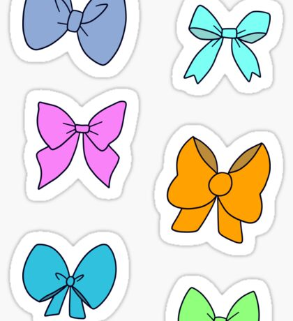 Bow Sticker Sheet Sticker