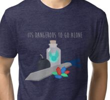 Dont go alone Tri-blend T-Shirt