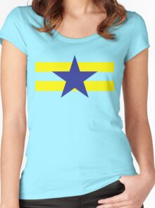 Browncoat/ Independents Flag Women's Fitted Scoop T-Shirt