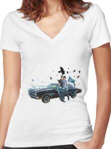 Supernatural 12 Women's Fitted V-Neck T-Shirt
