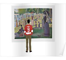 Cameron Frye - art exhibit Poster