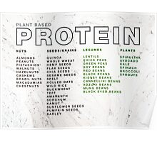 Plant Based Protein Poster