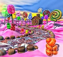 Pink Candyland by BonniePhantasm