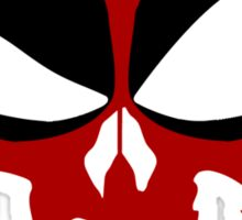 Deadpool Skull Sticker