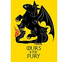 Ours is the night fury Photographic Print