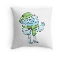 Eisbock Beer Monster Throw Pillow