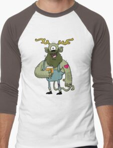 Saison Beer Monster Men's Baseball ¾ T-Shirt