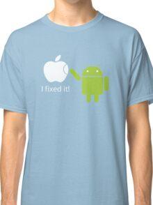 I Fixed It! Robot Phone Mobile  Classic T-Shirt