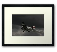 WWII German trainer Framed Print