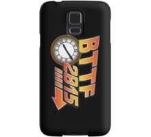 Back to the Future 2015 Logo with Clock Samsung Galaxy Case/Skin