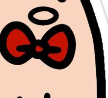 Bow Tie Piggy Sticker