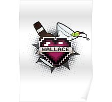 Heart Crest-Wallace Poster