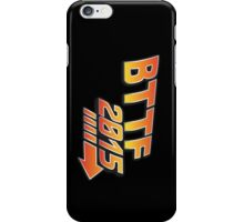 Back to the future 2015 Logo iPhone Case/Skin