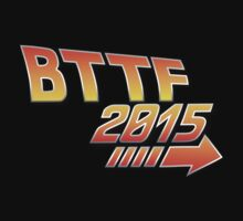 Back to the future 2015 Logo Kids Tee