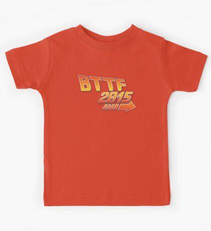 Back to the future 2015 Logo Kids Tee