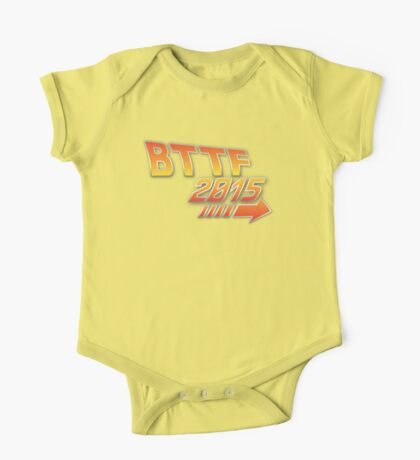 Back to the future 2015 Logo One Piece - Short Sleeve