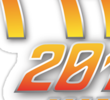 Back to the future 2015 Logo Sticker