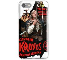 Captain Kronos: Vampire Hunter iPhone Case/Skin