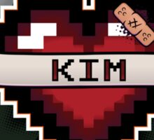 Heart Crest - Kim Sticker