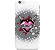 Heart Crest - Knives  iPhone Case/Skin
