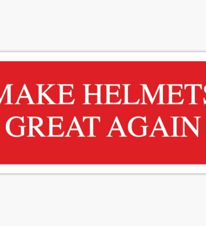 Helmets Sticker