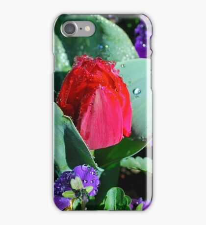 Nestled in Dew Drops iPhone Case/Skin