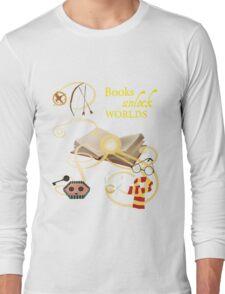 Books Unlock Worlds Long Sleeve T-Shirt
