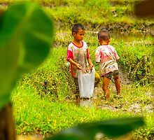 Hill Tribe children, Chiang Mai, Thailand by indiafrank