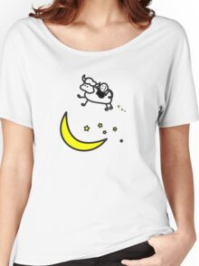 Over the Moon - Cow Love Women's Relaxed Fit T-Shirt