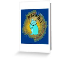 Hamsters in Space?  Greeting Card