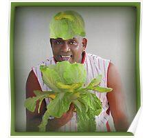 ☀ ツLET US EAT LETTUCE-SOME PEOPLE EAT IT SOME PEOPLE WEAR IT LOL-PICTURE-PILLOW-TOTE BAG  ☀ ツ Poster