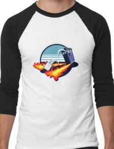 OUTAHERE Men's Baseball ¾ T-Shirt
