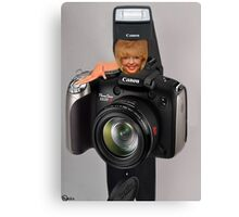 ✾◕‿◕✾ MY CAMERA AND I~ IT KINDA WEARS ON U ✾◕‿◕✾ Canvas Print