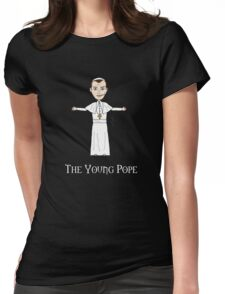 The Young Pope Womens Fitted T-Shirt