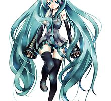 Vocaloid - Miku Hatsune by Whitedark