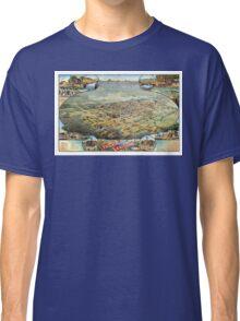 Bird's eye view of Phoenix - Arizona - 1885 Classic T-Shirt