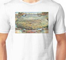 Bird's eye view of Phoenix - Arizona - 1885 Unisex T-Shirt