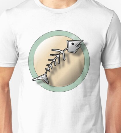 Pokingstick Fishbones Unisex T-Shirt
