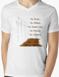 The Club Mens V-Neck T-Shirt