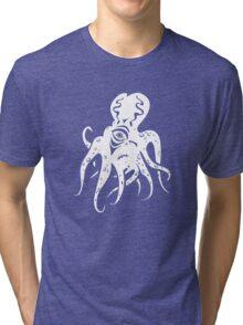 White Mutant Tri-blend T-Shirt