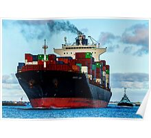 Container Ship #2 Poster