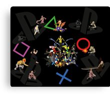 20 years of Playstation Canvas Print