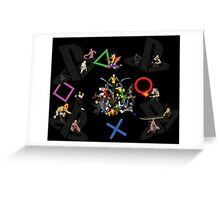 20 years of Playstation Greeting Card