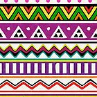 Aztec Pattern by EF Fandom Design