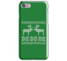 green christmas jumper iPhone Case/Skin