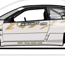 Chris Van Den Elzen's Subaru SVX Drift Car Sticker