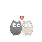 Owl Love by EF Fandom Design